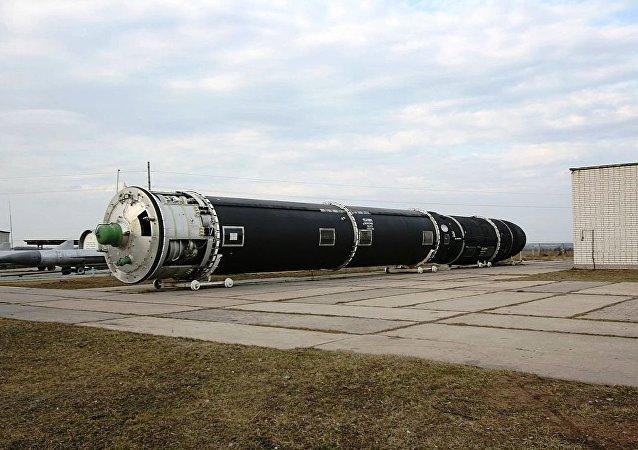 「薩爾馬特」彈道導彈將於2020年列裝俄軍隊
