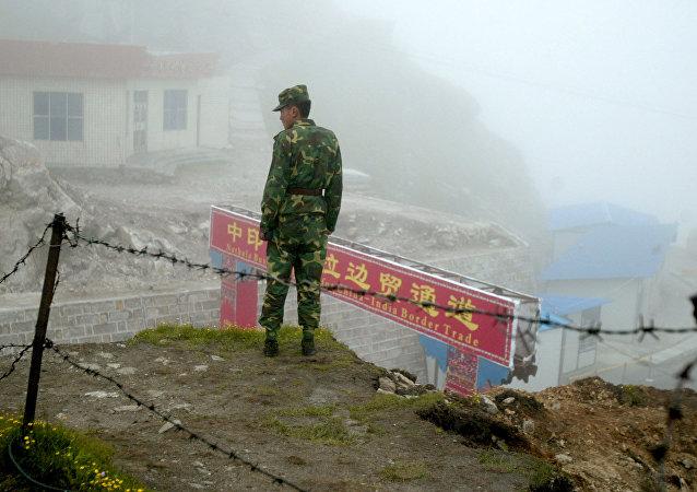 中印外交官员讨论拉达克边境局势