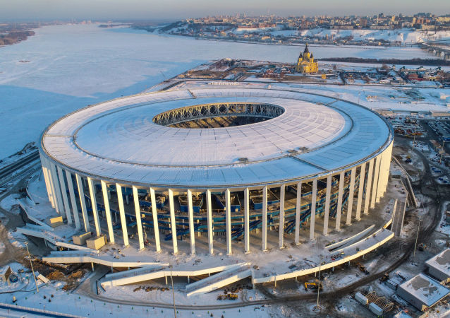 2018年世界杯前俄下諾夫哥羅德將出現足球聖誕球裝飾品