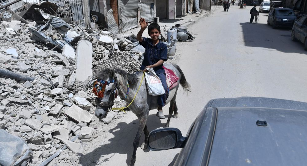 俄塞瓦斯托波尔向叙利亚发出第二批1万多吨粮食