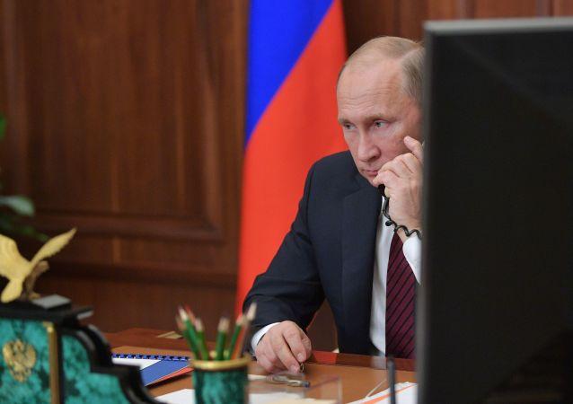 克宫:普京与马克龙通电就伊朗、叙利亚以及乌克兰局势进行讨论