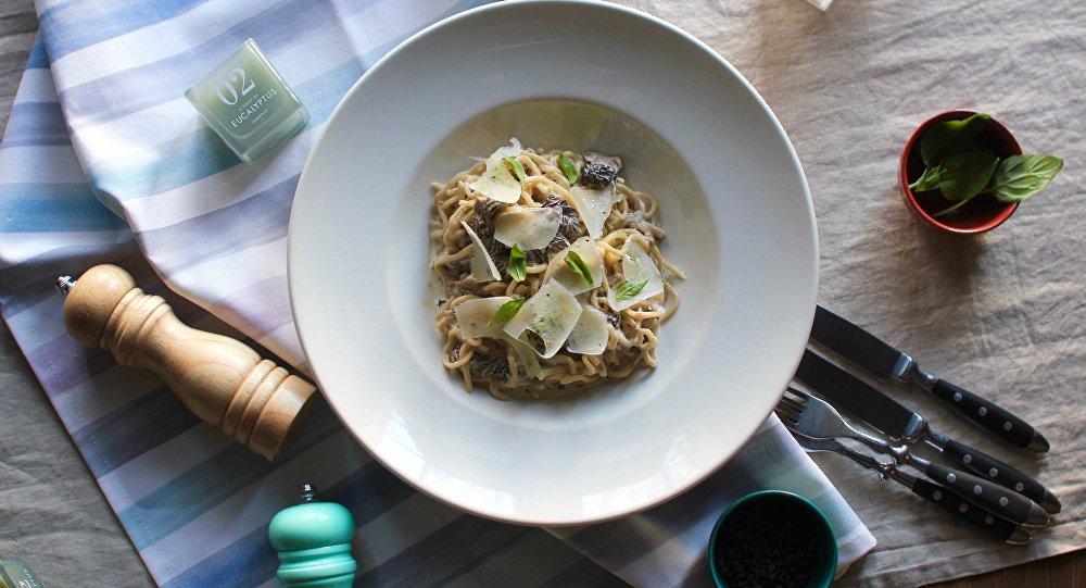 《穆卡》餐厅还有几种意大利面:经典口味和秘制口味