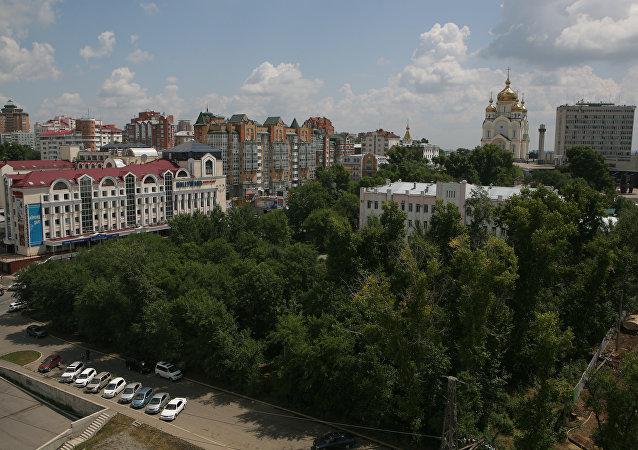 哈巴罗夫斯克市长向市民倡议周六公共体操活动