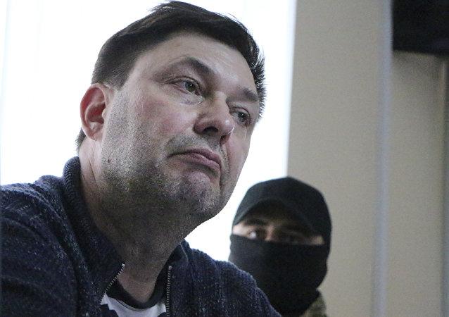 """""""俄新社乌克兰""""网站主管基里尔·维辛斯基"""