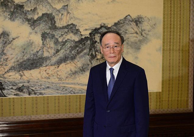 中國國家副主席王岐山