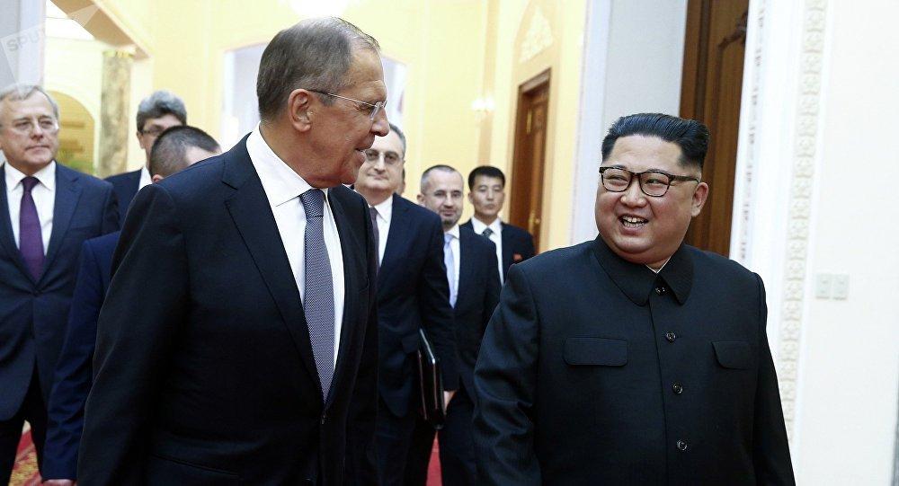 俄外交部,拉夫罗夫邀请金正恩访问俄罗斯
