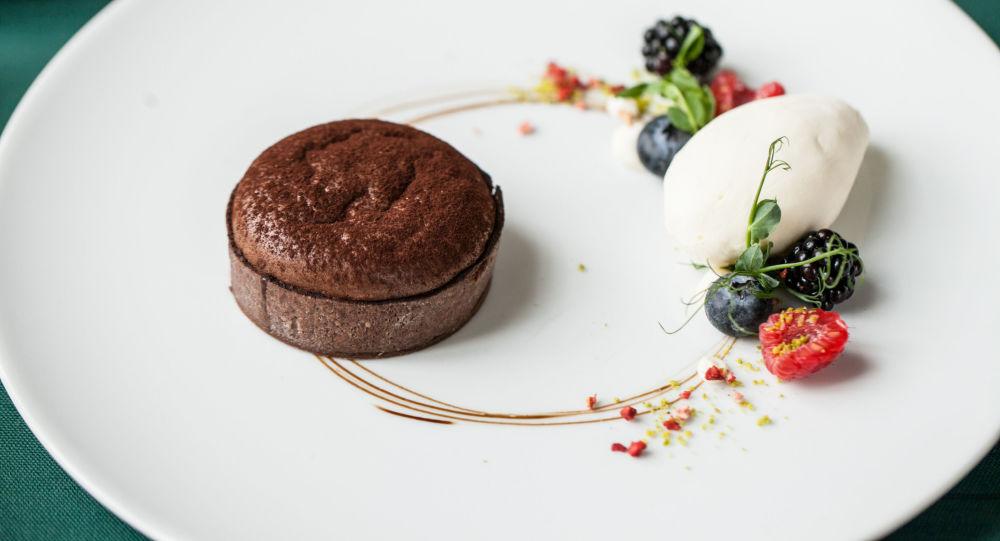 小巧克力蛋挞