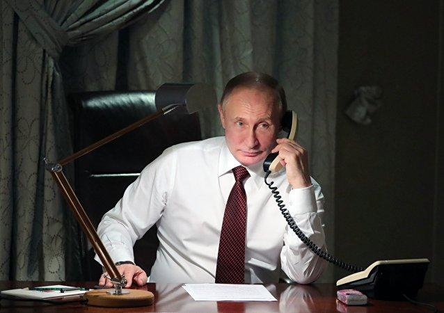 中俄國家領導人一個月兩次通電話 體現兩國關係高水平