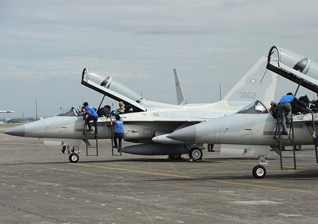 FA-50 multirole light fighter aircraft