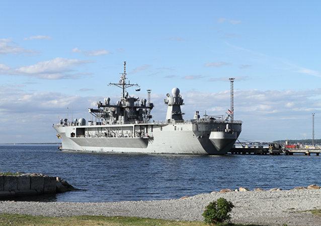 美国军舰在黑海