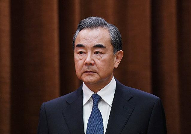 中国国务委员兼外交部长王