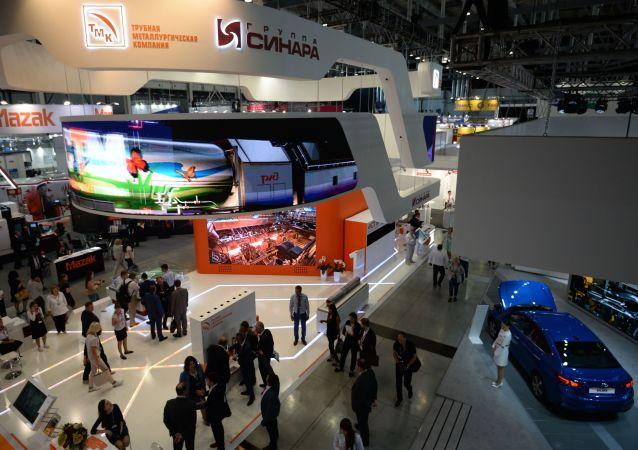 俄叶卡捷琳堡的俄中博览会因大流行而延期到2022年举行