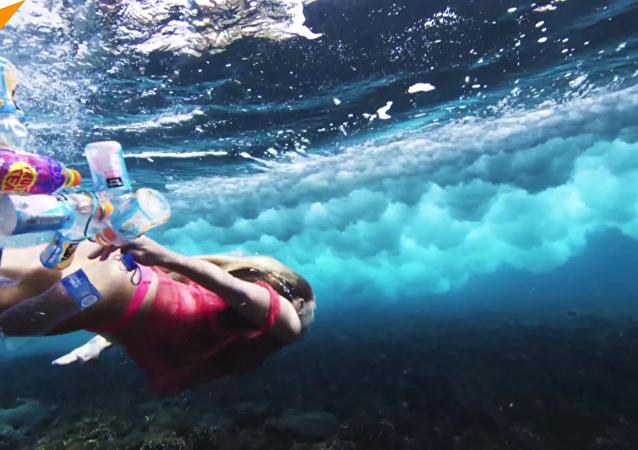 海洋裡魚多還是塑料垃圾多?