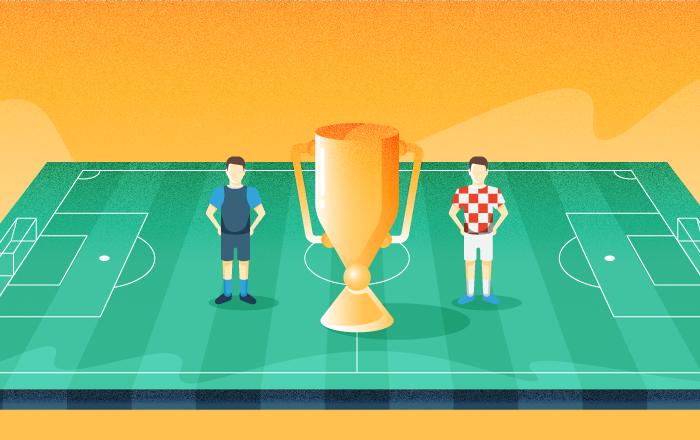 2018世界杯決賽隊伍的晉級之路