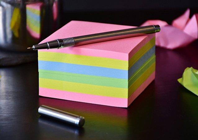Ручка с колпачком