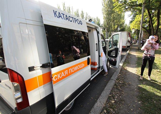 顿涅茨克急救车