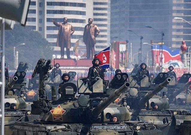 媒體:朝鮮建國70週年閱兵未展示洲際彈道導彈
