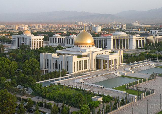 土庫曼斯坦首都阿什哈巴德