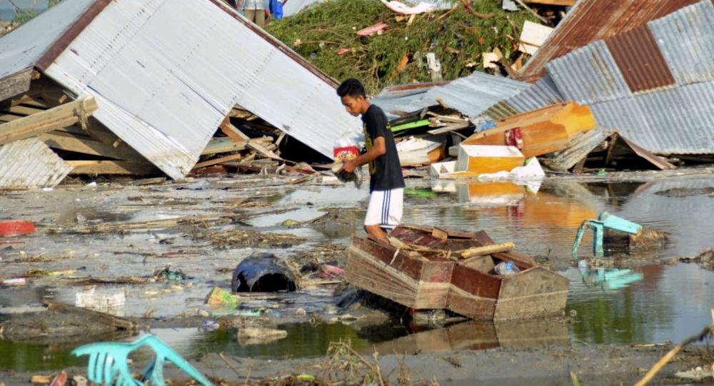 媒体:印尼地震和海啸死亡人数升至1763人