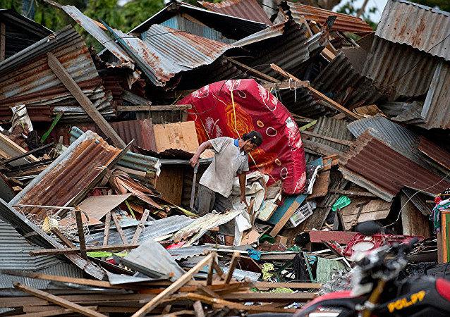 印度尼西亞地震