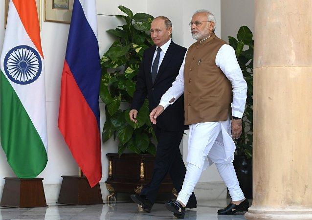 克里姆林宫:普京与莫迪通电讨论阿富汗局势