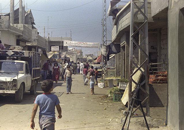 黎巴嫩的巴勒斯坦难民营