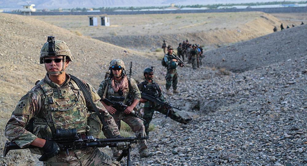 北约军人在阿富汗