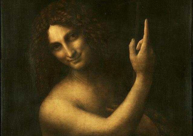 《施洗者約翰》,列奧納多·達·芬奇