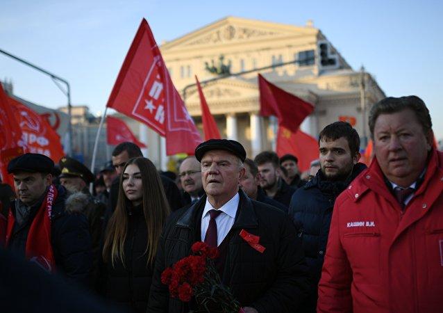 俄罗斯共产党领导人久加诺夫