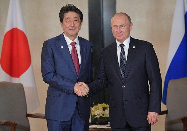 俄日元首就建立和平条约问题特别代表工作机制达成共识