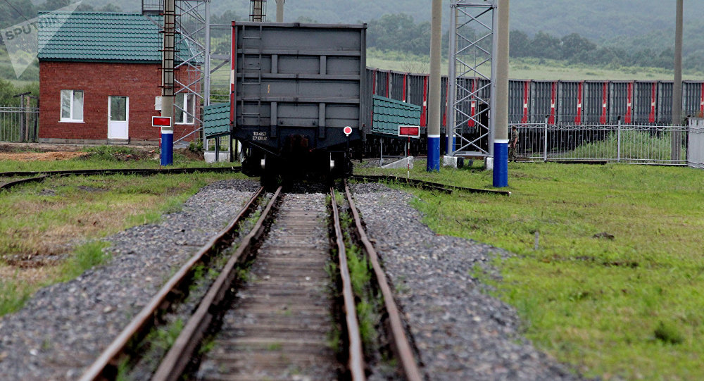 江西省開通至俄羅斯的中歐果蔬班列
