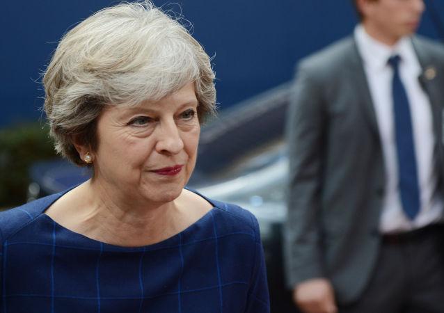 英国首相特蕾莎·梅