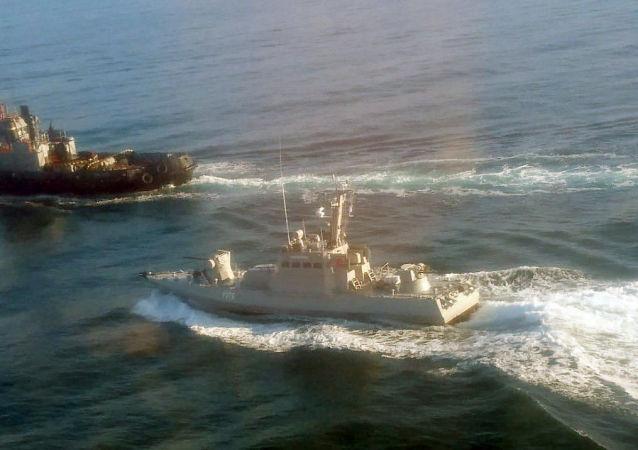 乌克兰海军三艘军舰