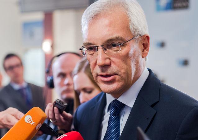 俄外交部副部长亚历山大·格鲁什科
