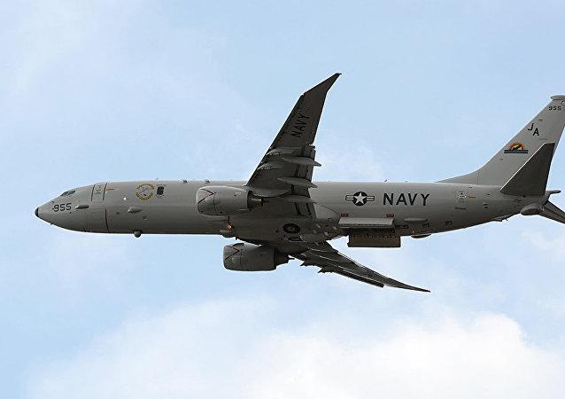 Противолодочный самолет Boeing P-8A Poseidon ВМС США провел разведку у Керченского пролива.