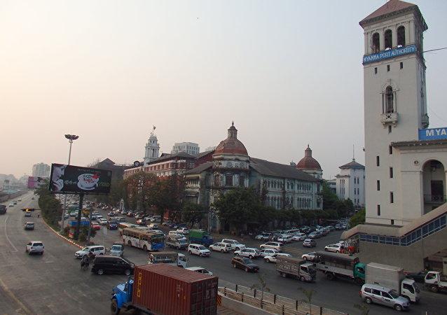 緬甸的仰光(圖片資料)