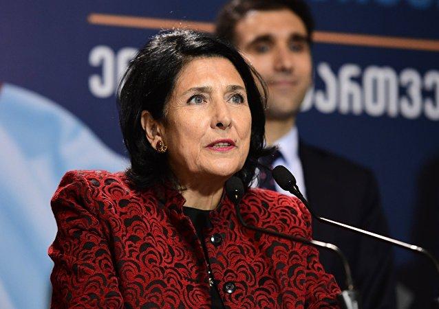 2-й тур президентских выборов в Грузии