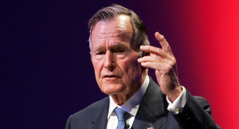 第41任美国总统老布什