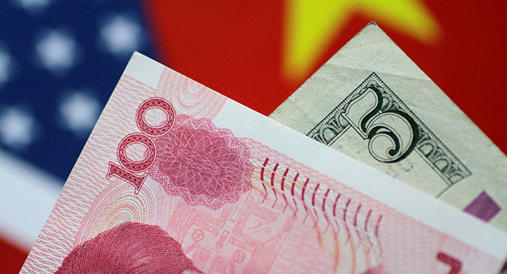 Доллар и Юань.