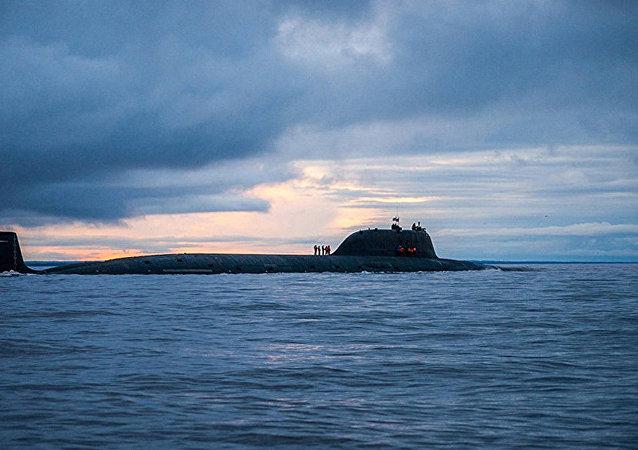 俄北方舰队在巴伦支海举行寻找敌方潜艇的演习