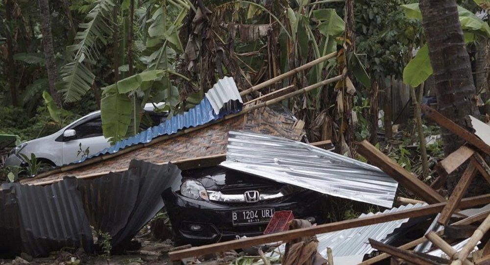 印尼紧急情况部门:海啸已致超过60人死亡