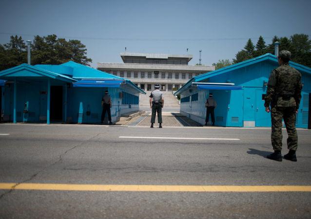 媒体:一朝鲜男子穿越朝韩边界线时被韩国军方拘捕