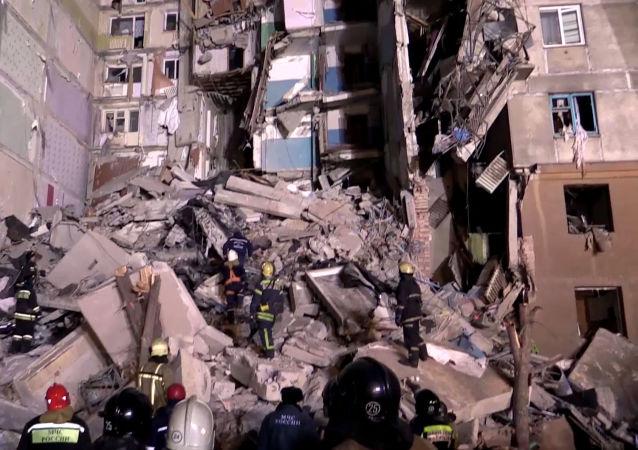 俄马格尼托戈尔斯克爆炸遇难者家属将获100万卢布抚恤金