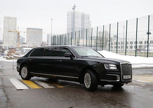 普京座駕民用版價格將於3月底前確定