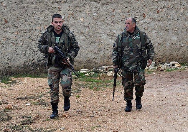 消息人士:叙利亚政府军在德拉省展开打击行动