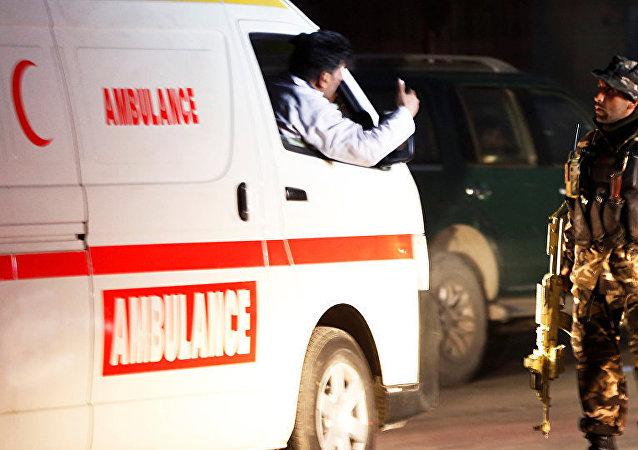 阿富汗軍隊一架直升機在阿南部墜毀 3人死亡