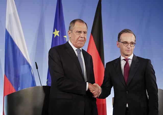 俄德外长对德政府向列宁格勒大围困幸存者拨款1200万欧元的决定表示欢迎