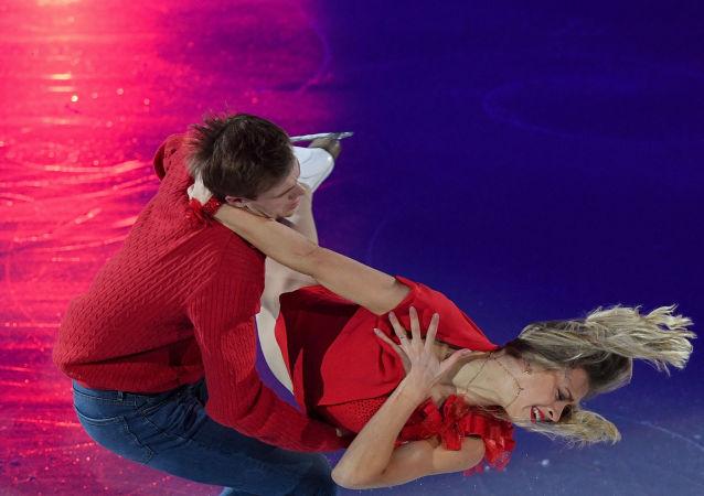 俄羅斯選手西尼齊娜和卡察爾波夫