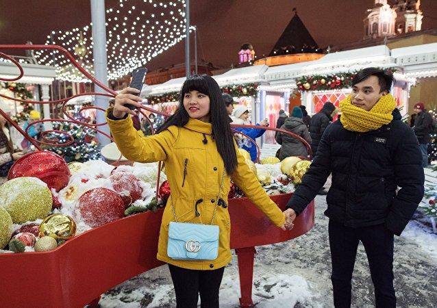 莫斯科新年集市