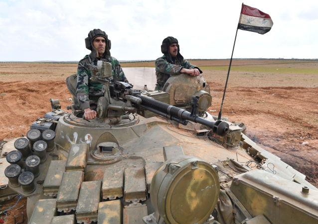 敘利亞軍隊(資料圖片)